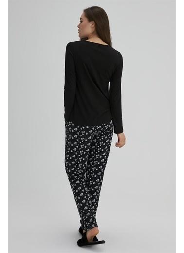 Dagi Pijama Takım Siyah